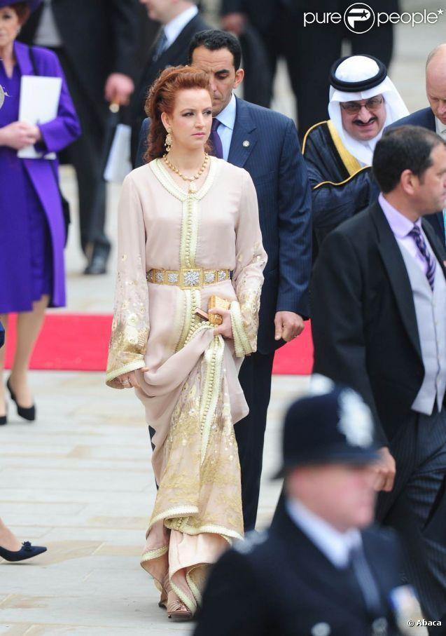 【モロッコ王室】ラーラ・サルマ妃 2011年4月29日英国ウィリアム王子結婚式 Time Tested Beauty Tips * Audrey Hepburn Forever *