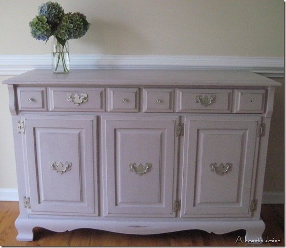 Buffet In Paloma Chalk Paint® Decorative Paint By Annie Sloan.