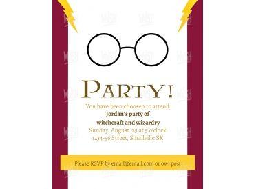 Wizard Customized Invitation  | Whish.ca