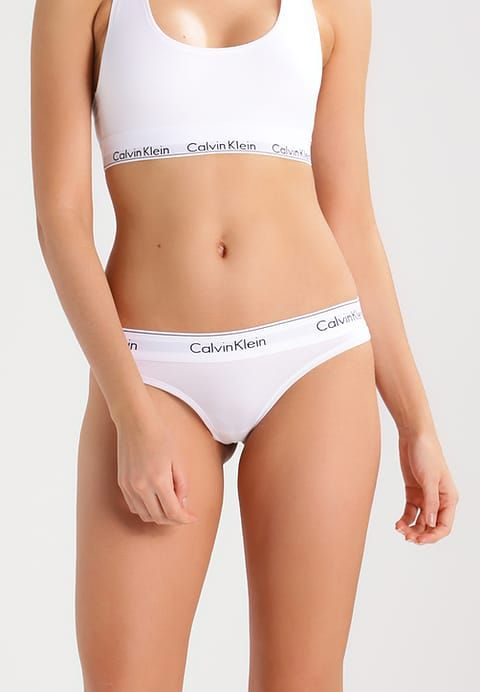 MODERN COTTON - G-strenge - white
