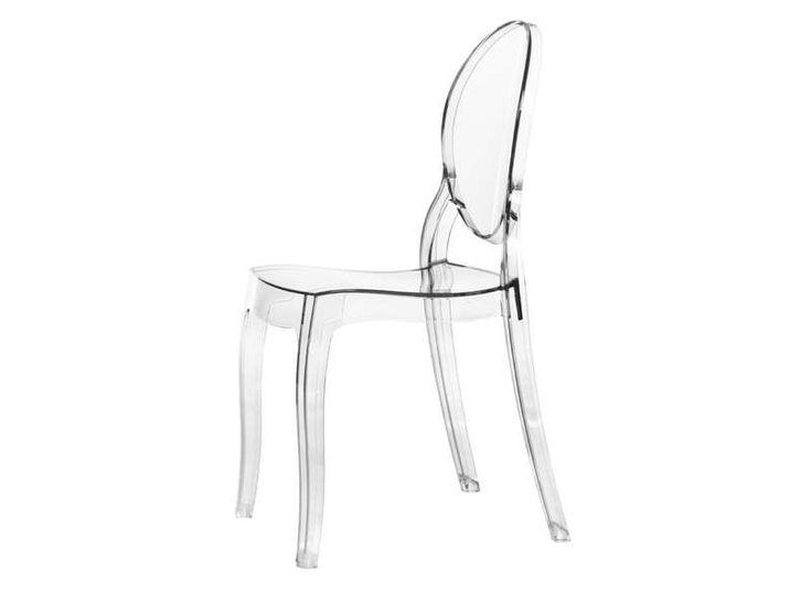 Chaise en plexiglass transparente wishlist pinterest - Chaise elizabeth transparente ...