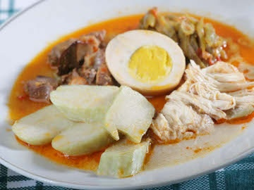 Indonesian Recipe: Lontong Opor