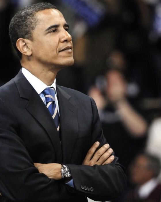 #SenatorDays (#44thPresident #BarackObama)  Senator Obama waits for his turn to address his supporters at the Peterson Event Center in #Pittsburgh on April 21, 2008, the eve of the #Pennsylvania #Primary #Election #ObamaLegacy #ObamaHistory #ObamaLibrary #ObamaFoundation Obama.org