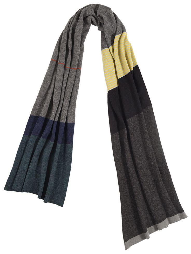 69 best Striped scarves images on Pinterest | Knit scarves ...