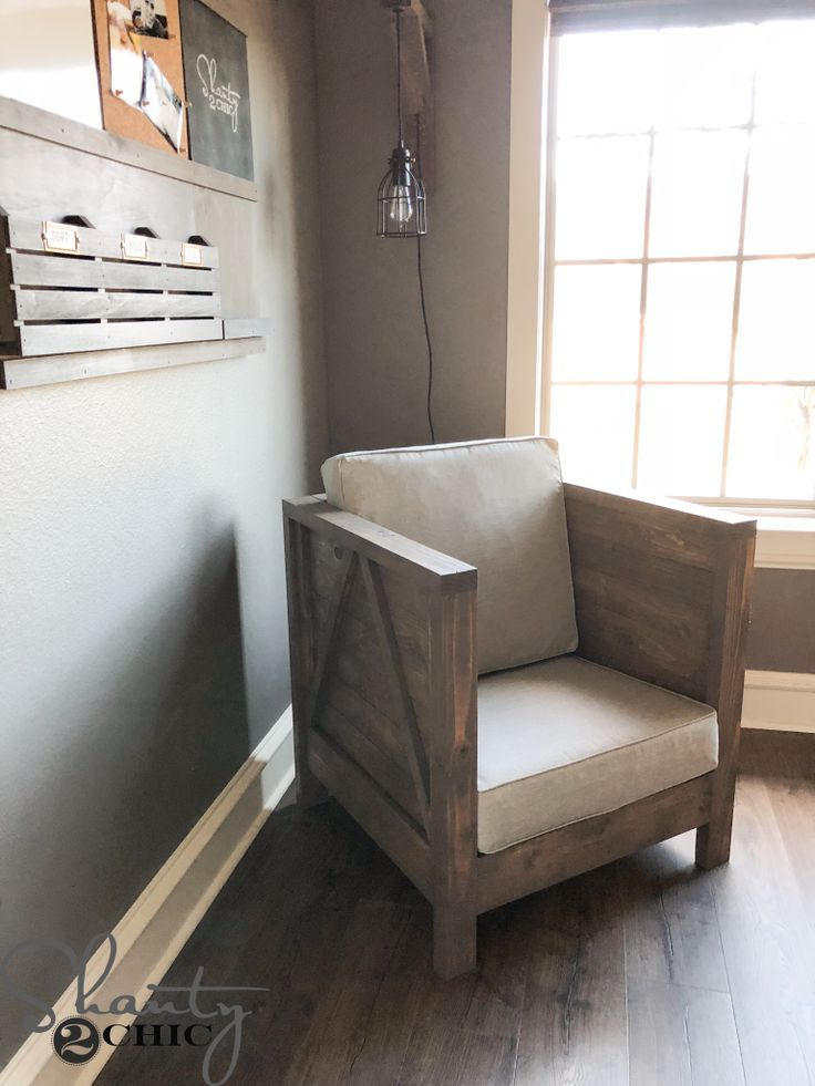 Diy Farmhouse Club Chair Furniture