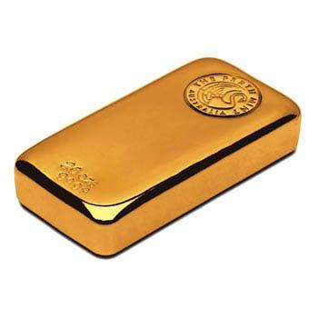 Perth Mint 20oz Gold Cast Bar