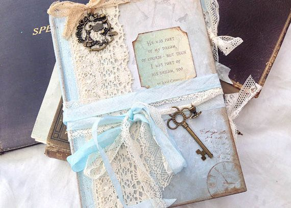 Winter themed Alice in Wonderland Wedding by youruniquescrapbook, £89.00