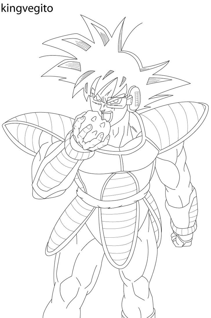 Fusion Gotenks Super Saiyan 3 Form In Dragon Ball Z Coloring Page ... | 1096x728