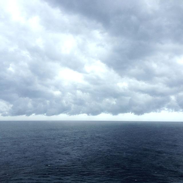 Nubes y mar: Nubes En