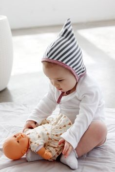 Pixie Baby Bonnet Pattern | see kate sew