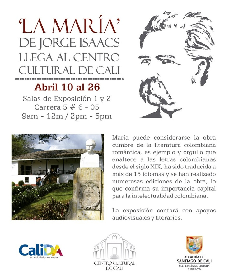 La María de Jorge Isaacs llega al Centro Cultural de Cali