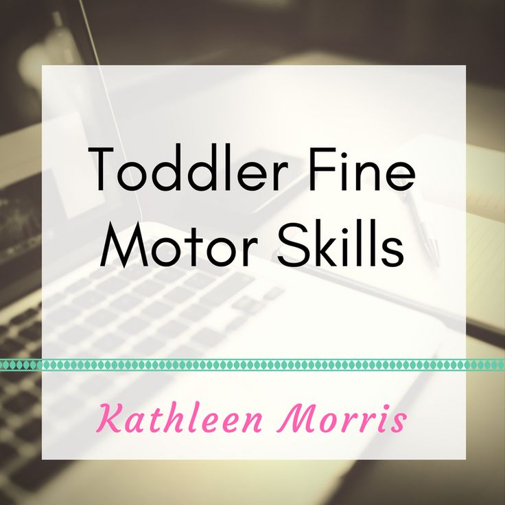 Simple activities for young children to develop their fine motor skills.