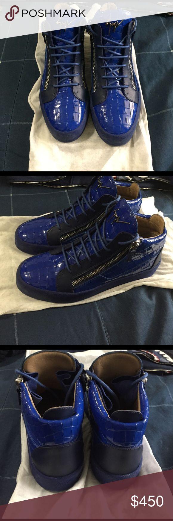 Giuseppe Zanotti Worn Twice , Authentic .. Giuseppe Zanotti Shoes Sneakers