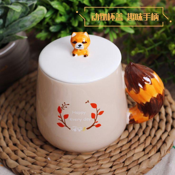 Персонализированные Горячего Животного 3D Кружка Керамическая Молоко Кружка Кофе Чай Пользовательские День Рождения Рождественские Подарки(China (Mainland))