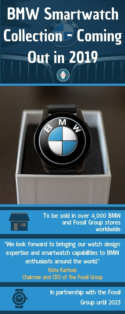 BMW Smartwatches coming out in 2019 BMW   BMW Smartwatch