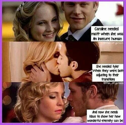 Is klaus and Caroline in vampire diaries dating in real life?