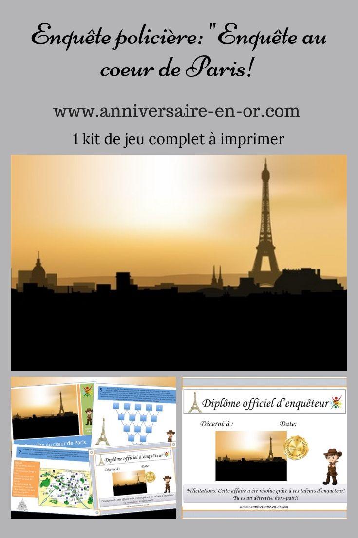 Enquete A Paris Chasse Au Tresor Paris Enfants Paris