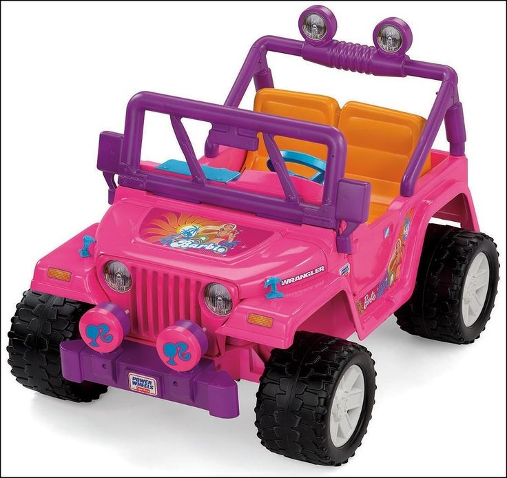 Power Wheels Pink Jeep