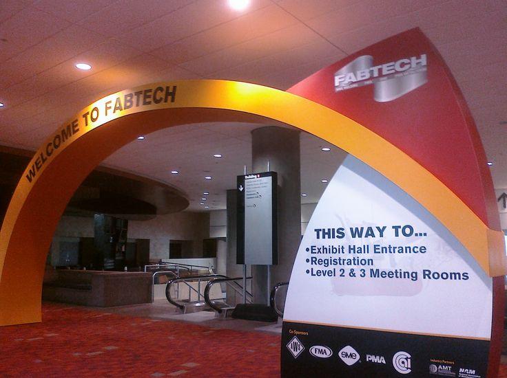 tradeshow entrance | Sunday, October 31, 2010