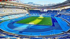 Olympic stadium for track and field (Engenhão) at #Rio2016 @NBCOlympics
