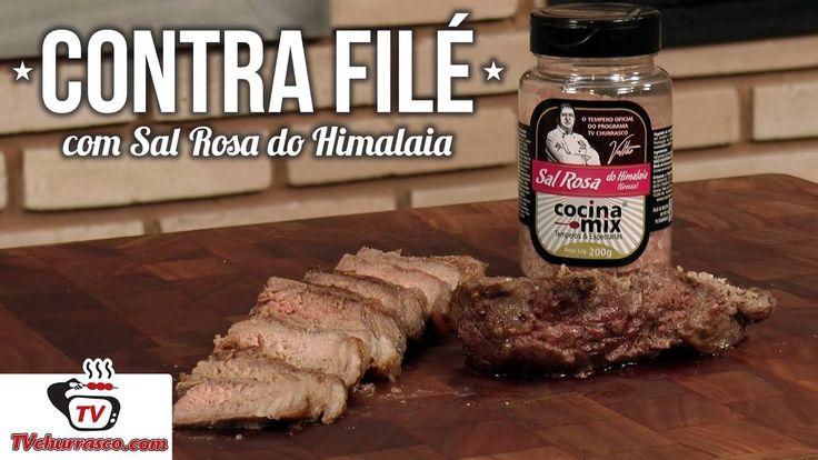 Contra Filé com Sal Rosa do Himalaia Confira:http://www.tvchurrasco.com.br/site/receita/como-fazer-contra-file-com-sal-rosa-do-himalaia  #tvchurrasco #churras #churrasco #sextouu #sextou #carnivoros #carne #churrascoacimadamédia #churrascoforadamédia