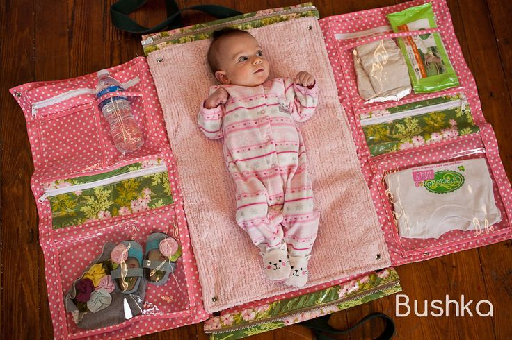 Great idea for a baby bag. Love this!