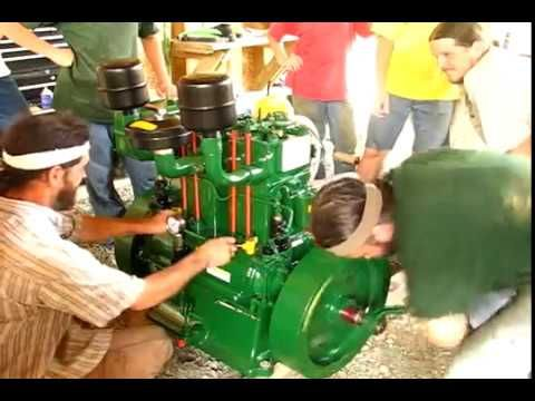 DOUBLE CYLINDER LISTER ENGINE