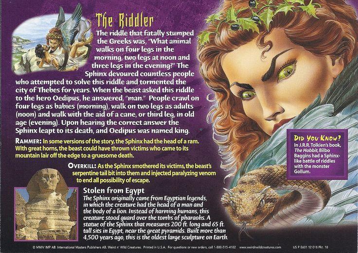 Sphinx bk Sphinx, Mythological creatures, Mythical creatures