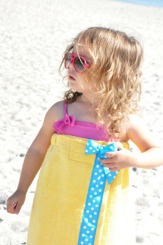 Girls Towel Wrap Toddler Towel Wrap Towel Wrap Spa