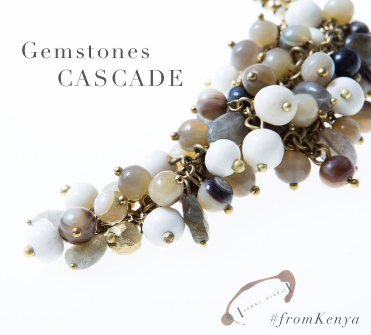 Pendant with quartz: made in Nairobi, selected or you. Taste of Africa. http://near-and-far.com/en/home/174-penny-winter-pendant-with-quartz.html #jewels #jewelry #kenya #maldafrique #travel