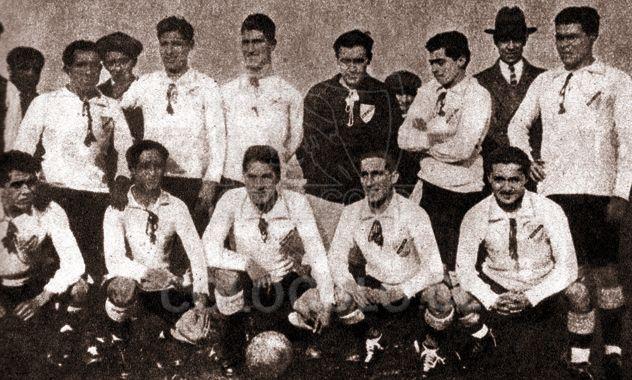 Primera foto de Colo-Colo