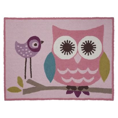 Living Textiles Baby Owl Rug $69.99