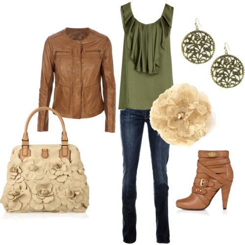Fall Outfit...I will have those boots please!: Premier Design, Shoes, Fashion, Style, Colors, Fall Outfits, Leather Jackets, Boots, While