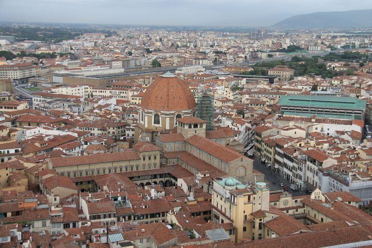 Widoki z kopuły w Katedrze we Florencji