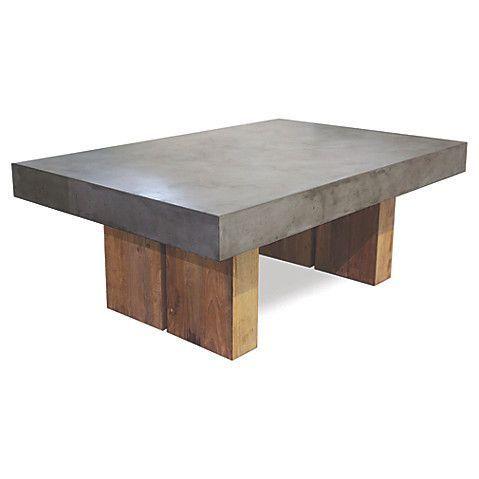 Samos Outdoor Coffee Table, Slate Gray $1,975.00