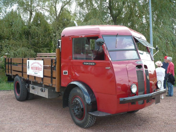 PANHARD K159 gazogène à bois Imbert 1946