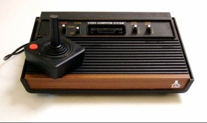 Atari - first video game80S, Plays Games, Spaces Invaders, Pac Man, Childhood Memories, Videos Games, 70S Toys, Christmas Mornings, Atari 2600