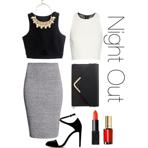 """Night Out on the town"" by jaeliene on Polyvore"