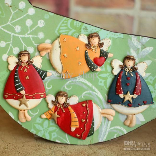 Polyresin Магниты На Холодильник Пухлые Ангел Холодильник Магнит Свадебные Подарки Холодильник Магниты