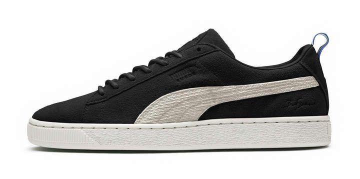 PUMA x BIG SEAN Suede 'Black White' Sneakers #classics