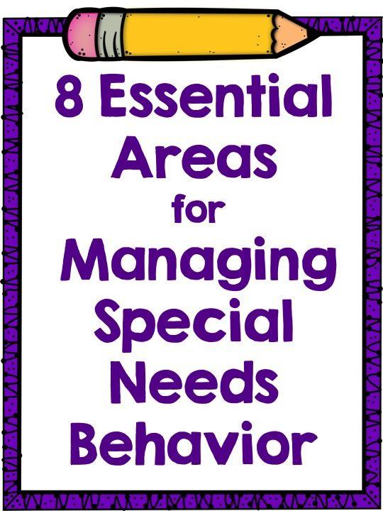 Read~Write~Create : Managing Special Needs Behavior