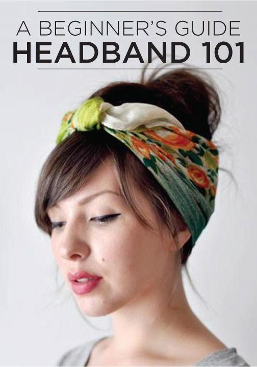 Headband 101 4 Very Modern Ways To Wear The Hair