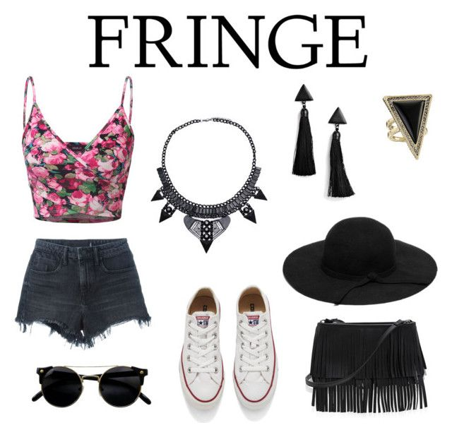 """""""Festival """" by roxi-ruzsa on Polyvore featuring Doublju, Alexander Wang, Converse, Boohoo, House of Harlow 1960 and White House Black Market"""