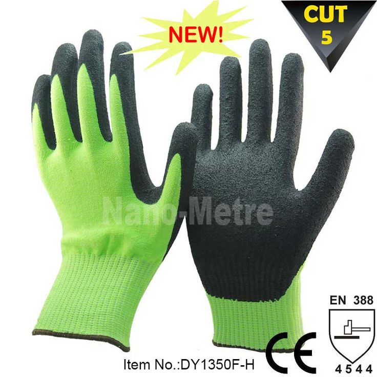 NMSafety New Type Chemical Industry Cut Resistant Working Gloves