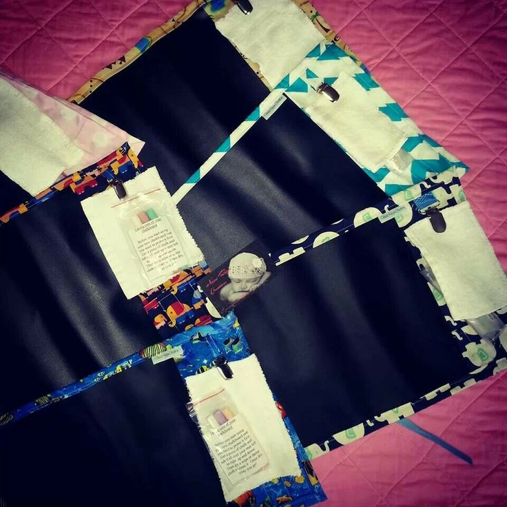 Chalkboard travel mats! Awesome for on the go, eating out, nannies place :)