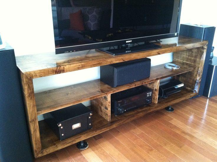 diy entertainment center ideas pinterest. Black Bedroom Furniture Sets. Home Design Ideas