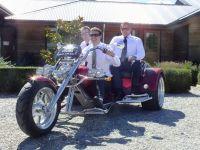Wanaka Trike - perfect for weddings.