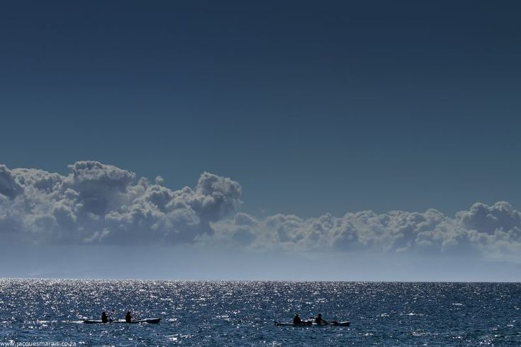 Sea Kayaking in False Bay. Photo © Jacques Marais