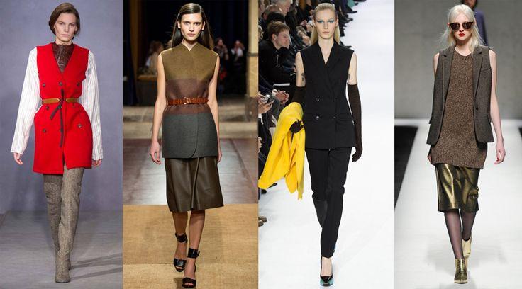 Жакеты-жилеты — мощная тенденция будущего осенне-зимнего сезона, они появились в коллекциях у большинства модных марок