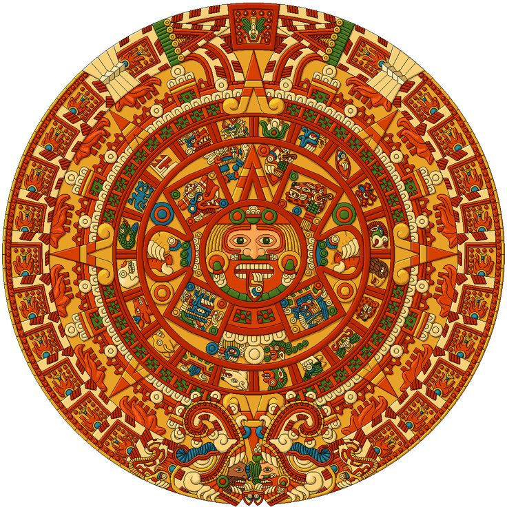 Mayan calendar.  What, no 2012? Uh oh, could be trouble...